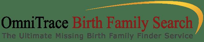 Omnitrace Birth Search Family Logo